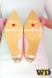 Papiernictvo - Nálepky na svadobné topánky - 13244179_
