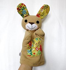 Hračky - Maňuška zajac - Zajačik od Rozkvitnutej lúky - 13243183_