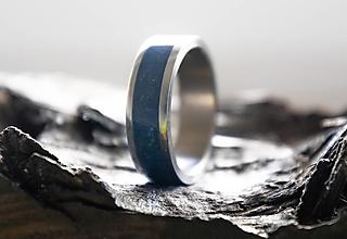 Prstene - Prsteň Lapis Lazuli - 13245370_
