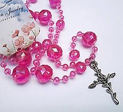 Náhrdelníky - Náhrdelník kríž - 13242545_