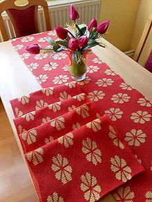 Úžitkový textil - Pletené prestieranie - 13242737_