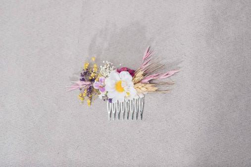 """Kvetinový hrebienok """"margarétková romanca"""""""