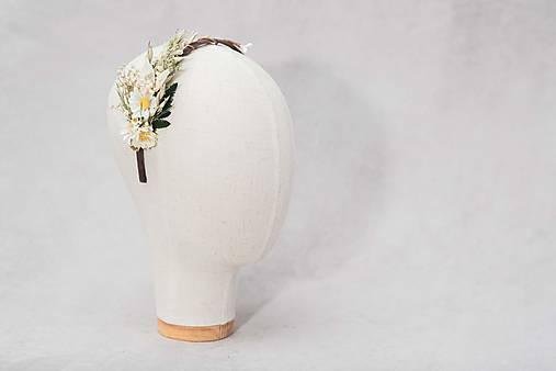 "Kvetinová čelenka ""ľúbi či neľúbi"""