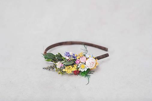 """Kvetinová čelenka """"pieseň o lete"""""""
