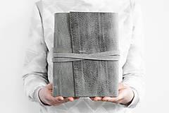 Papiernictvo - Kožený zápisník Ariana - 13246099_