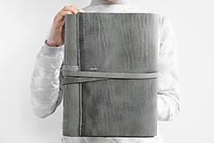 Papiernictvo - Kožený zápisník Karl - 13246119_