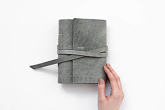 Papiernictvo - Kožený zápisník Diana - 13243504_