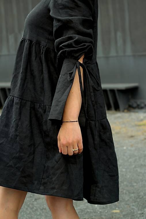 Šaty - VANESA šaty čierne - 13247028_