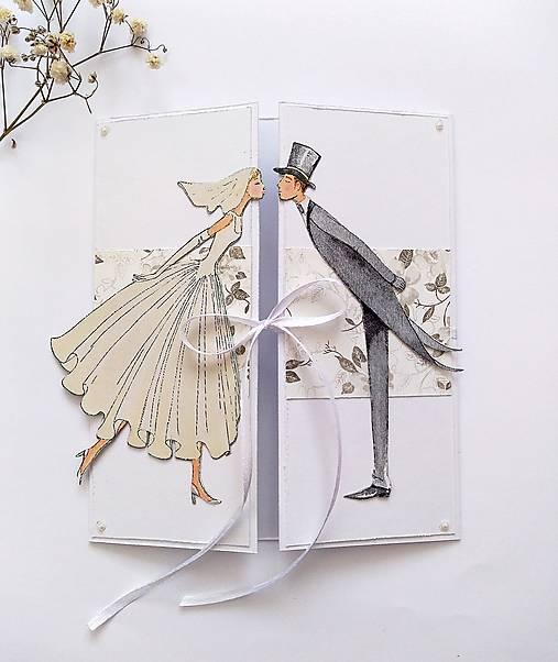 Papiernictvo - Pohľadnica svadobná - 13248479_