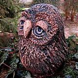 Dekorácie - Tak moudrá sova - 13246986_