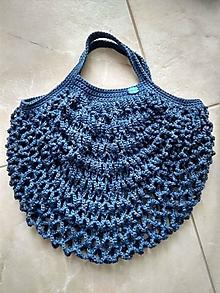 Nákupné tašky - Sieťovka modrá - 13250028_