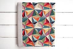 Papiernictvo - Geometrický fotoalbum - 13248832_
