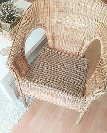 Úžitkový textil - Podsedák cappuccino - 13247812_