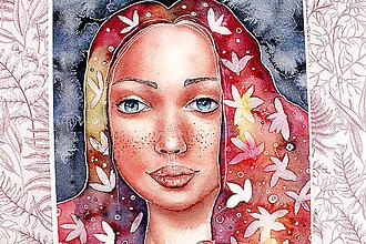 Kresby - Art Print Flower - 13246674_