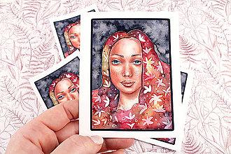 Papiernictvo - Nálepka veľká Flower - 13246688_