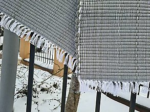 Úžitkový textil - Koberec vlnený  (72x210cm - Šedá) - 13254163_