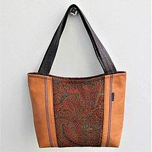 Veľké tašky - BORNEO BAG * kůže @ ornament * * * PARROT® - 13253220_