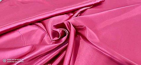 Textil - Satén (Cyklamén) - 13252780_