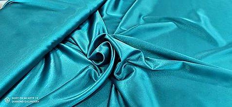 Textil - Satén (Tmavý tyrkys) - 13252782_