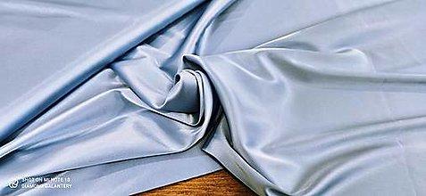 Textil - Satén (Belasá modrá) - 13252786_