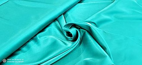Textil - Satén (Tyrkys) - 13252791_
