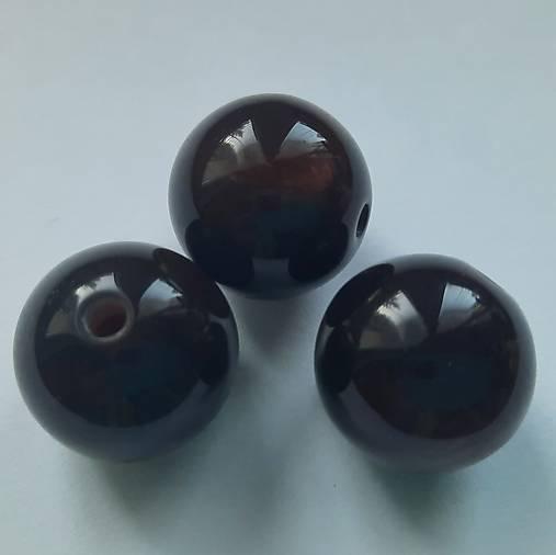 Živicové korálky 20mm-1ks