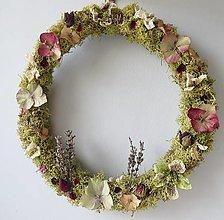 """Dekorácie - Kvetinový veniec """"Daria"""" - 13251415_"""