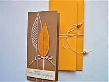Papiernictvo - pohľadnica atyp s obálkou - 13253324_