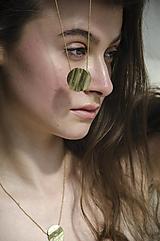 """Náhrdelníky - Medailón na dlhej retiazke """"Minimal"""" - 13251169_"""