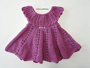 Detské oblečenie - šatočky pre dievčatko (orgovánové) - 13251361_