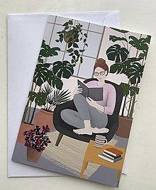 """Papiernictvo - Pohľadnica """"Zelený domov"""" - 13251513_"""