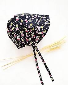 Detské čiapky - Bavlnený čepček - CHERRY - 13251135_