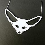 Náhrdelníky - Fennec Fox... fenek, náhrdelník - 13250747_