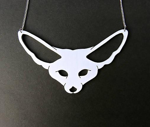 Fennec Fox... fenek, náhrdelník