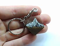 Kľúčenky - Živicová kľúčenka - Hory 3 - 13258194_