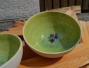 Nádoby - Misky zelené, jabĺčkové šalátovky :D. - 13255877_