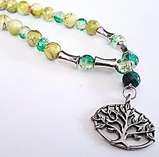 Náhrdelníky - Strom života - 13255428_