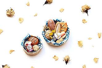 Hračky - Mini pečivo v košíčku IV ♡ - 13259194_