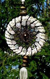 Dekorácie - Mandala lásky a mieru - 13258899_