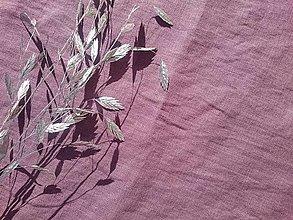 Textil - 100% mäkčený ľan 185g (ako materiál alebo šitie na želanie) - 13258074_