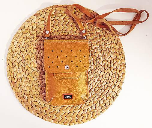 Iné tašky - Multifunkčné kožené púzdro NO.1 - 13258646_