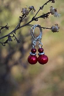 Náušnice - Malé perličkové náušnice - 13262292_