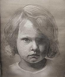 Obrazy - Portrét Dievčatka - 13262753_
