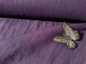 Textil - 100% mäkčený ľan 185g (ako materiál alebo šitie na želanie) - 13261381_