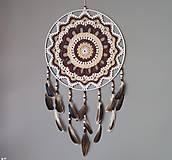 Dekorácie - Lapač snov 40 x 75 cm - 13262889_