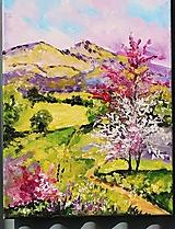 Obrazy - Jarná krajina - 13259825_