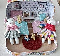 Hračky - Čarovný kufrík s myškami-SLUZI AKO UKAZKA - 13262134_