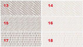 Nádoby - Dózy MIX múka (17 x 13 cm - 1000gr. (1 kg. múky) - 13259487_