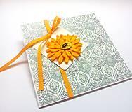 Papiernictvo - Pohľadnica ... kúsok kvetu I - 13267034_