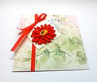 Papiernictvo - Pohľadnica ... kúsok kvetu II - 13267053_